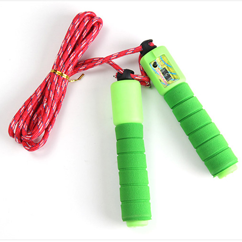Rope Sports Jump Rope Primary School Children Kindergarten Young STUDENT'S Count Adjustable GIRL'S Beginners Single Person Kids