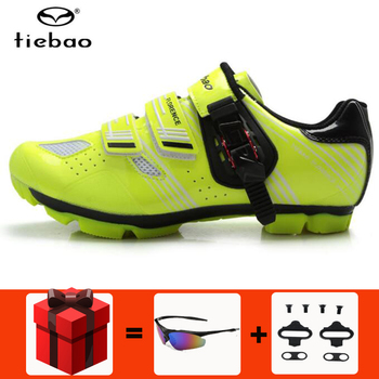 Tiebao Cycling Shoes sapatilha ciclismo mtb Men sneakers Women Bicycle Outdoor Racing Athletic Mountain Bike Self-Locking Shoes