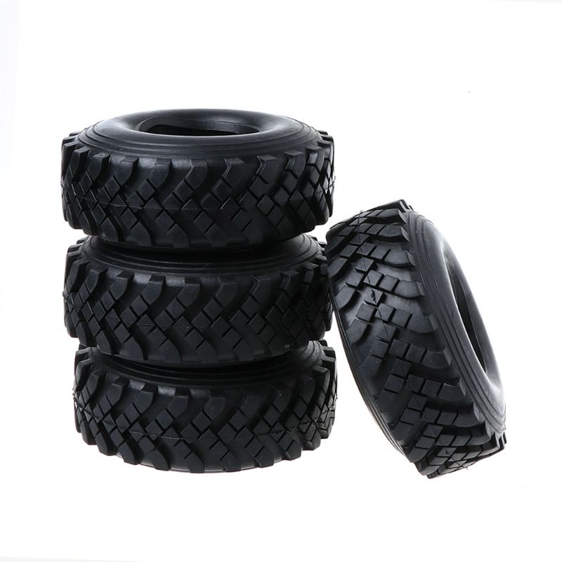 4pcs <font><b>2.2</b></font> inch 128mm Rubber <font><b>Tires</b></font> With Foam Inserts for 1/10 <font><b>RC</b></font> Rock <font><b>Crawler</b></font> Remote Control Car Tyres image
