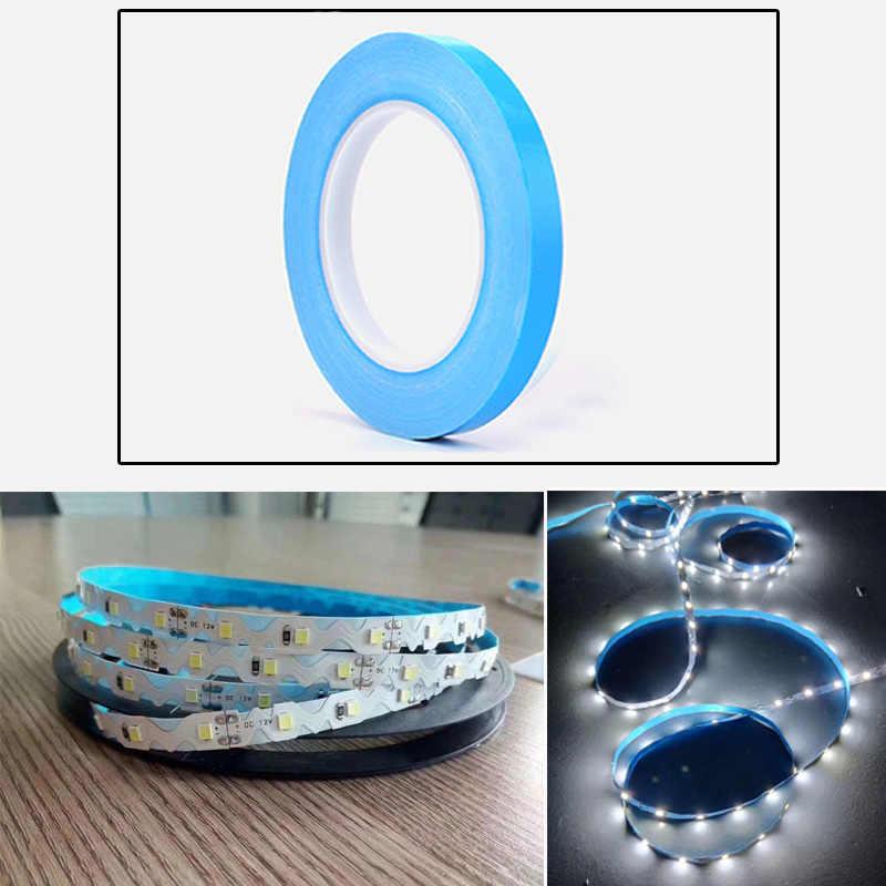 Bande adhésive conductrice thermique de bande de transfert de chaleur Double face large de 25m 5/8/12/20/50mm pour le dissipateur de chaleur de bande de lumière LED de CPU de carte PCB