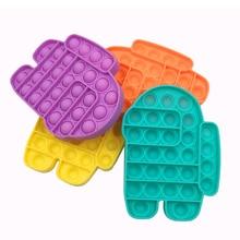 Toys Adult Bubble-Sensory-Toy Fidget-Reliver-Stress Squishy Stress Funny Push-Pop Autism