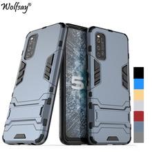 For Cover Vivo iQOO Neo3 5G Case Bumper Hybrid Stand Silicone Armor Phone Case For Vivo iQOO Neo3 5G Cover For Vivo iQOO Neo 3 candy solid color liquid case for vivo iqoo neo 3 5g case for vivo iqoo z1 5g phone case for vivo iqoo neo3 cover iqoo z1 6 57