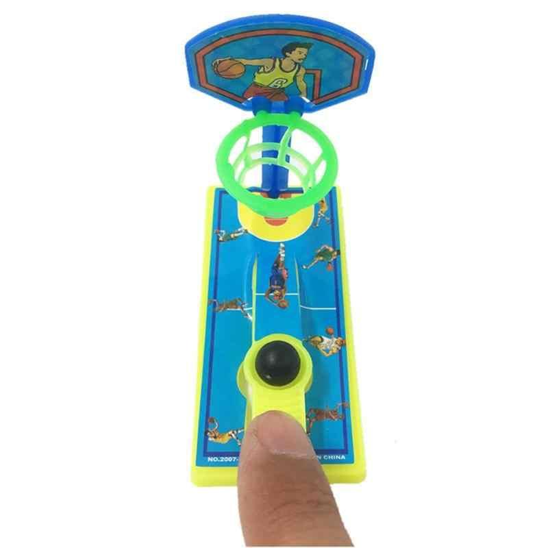 مصغرة جيب إصبع كرة السلة سطح المكتب جهاز إطلاق الرصاص مكافحة الإجهاد الضغط الاطفال لعبة الوالدين والطفل الألعاب التفاعلية