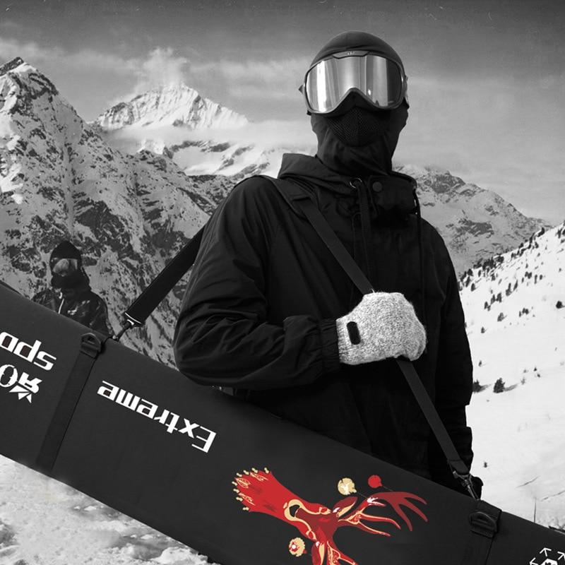 Snowboard Board Set Dumplings Snowboard Bag Snowboard Anti-scratch Anti-rust Veneer Blade Protection New 155