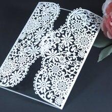 Металлические режущие штампы для цветочных свадебных приглашений