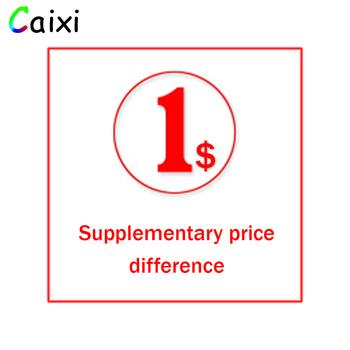 Dodatkowa opłata za różnicę w cenie dodatkowe koszty (jeśli 10 USD więc Pls wprowadź 10 sztuk Kwoty do zapłaty 10 USD) tanie i dobre opinie CAIXI ca01
