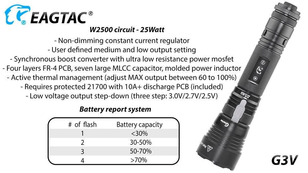g3v d25c2, bateria de 21700 mah, recarregável