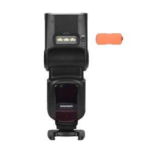 Image 4 - YONGNUO YN968N II flaş Speedlite Canon Nikon DSLR ile uyumlu YN622N YN560 kablosuz TTL Speedlite 1/8000 ile LED ışık