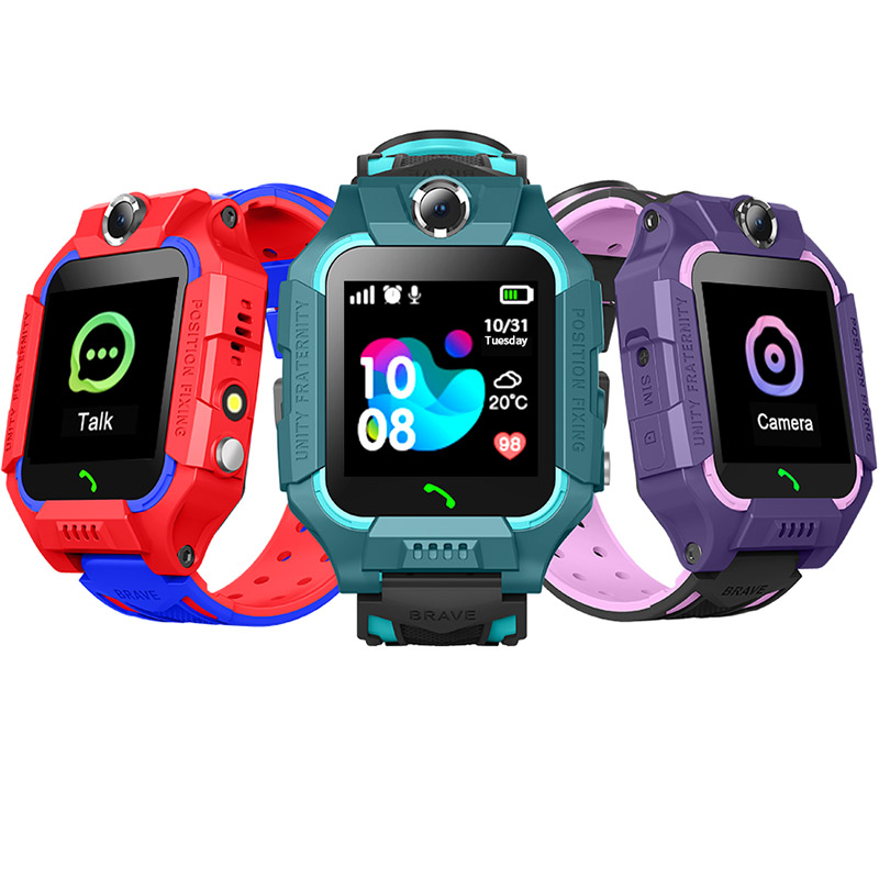 <font><b>Smart</b></font> <font><b>Watch</b></font> <font><b>Kids</b></font> LBS Positioning Location SOS Phone Children Smartwatch With Camera Voice Chat VS Q02 <font><b>Q528</b></font> Electronic <font><b>Watches</b></font> image