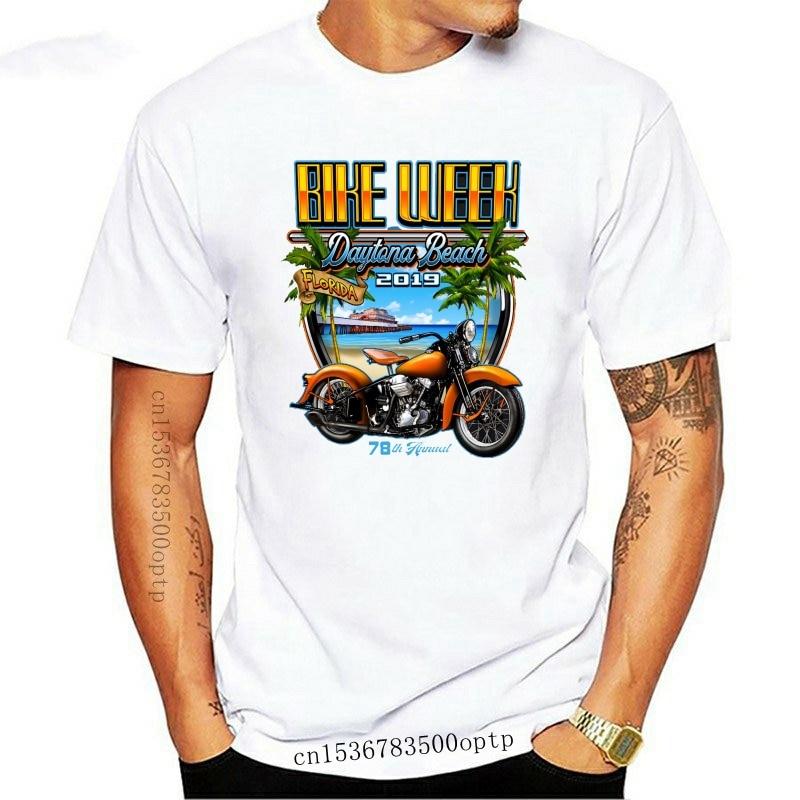Biker Life Clothing 2020 Bike Week Daytona Beach Beach Shield T-Shirt(1)