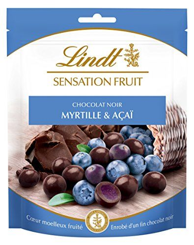 Sensation Fruit Con Cioccolato Nero, Arà ¡ndano E Acai Lindt