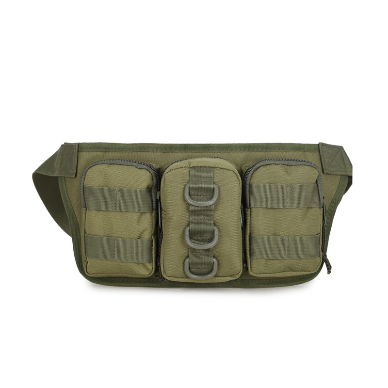 Camping Riding Army Fans Sports Outdoor Fashion Multi-functional Triple Wallet Carry-on Carriable Shui Hu Bao Army Fans Manufact