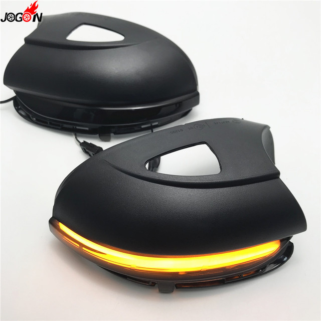 2pc LED Sequential Mirror Lights For Volkswagen mk6 Volkswagen Golf 4