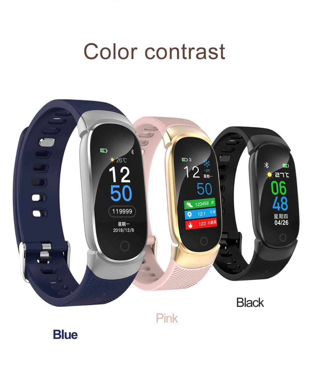 QW16 Smart Band Heart Rate Tracker Fitness Tracker Smartband Smart Bracelet Waterproof Smart Wristband Smart Watch pk mi band 3 (13)