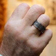 Anillos clásicos Mcllroy, anillo para hombre, cuatro esquinas, dragón mítico griego, símbolos Retro de acero titanio, regalo masculino Punk aneis vikingo 2019