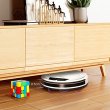 Fmart E-R550W(S) Robot Vacuum Cleaner APP and Voice Control for Hard Floor Pet Hair Mop and Water Auto Vacuum Cleaner for Home