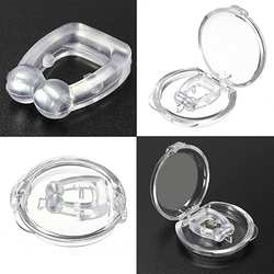 Мягкий зажим для носа антихрап ночное спальное устройство стоп храп носовые расширительное устройство