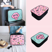 Packing Cubes Travel Pouches Luggage Organiser Clothes Suitcase Storage Bag New Foldable Bags