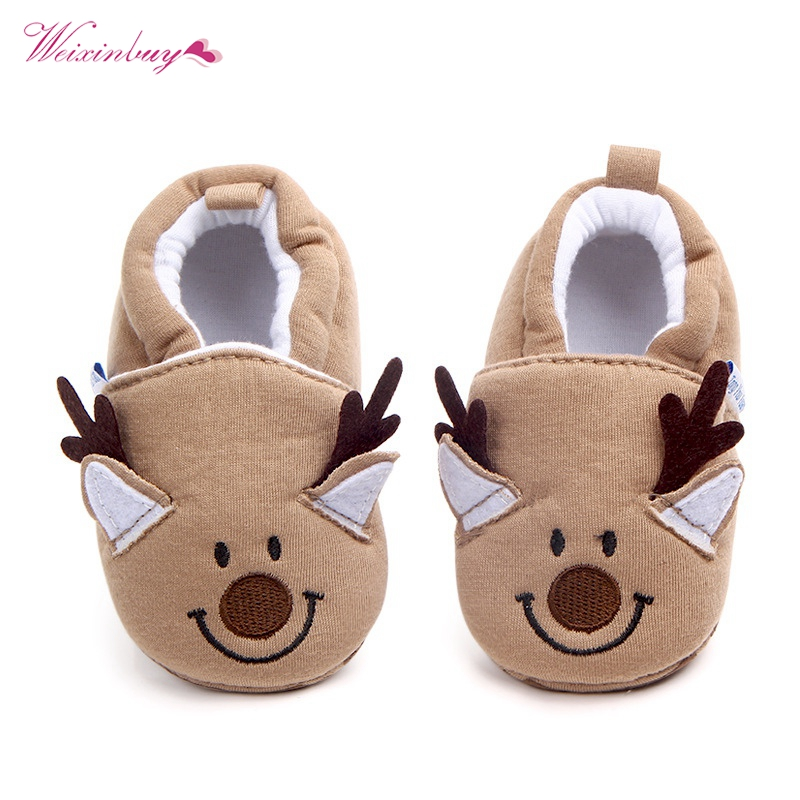 Fashion New Spring Autumn Winter Baby Shoes Girls Boy First Walkers Slippers Newborn Baby Girl Crib Shoes Footwear Booties 0-18M