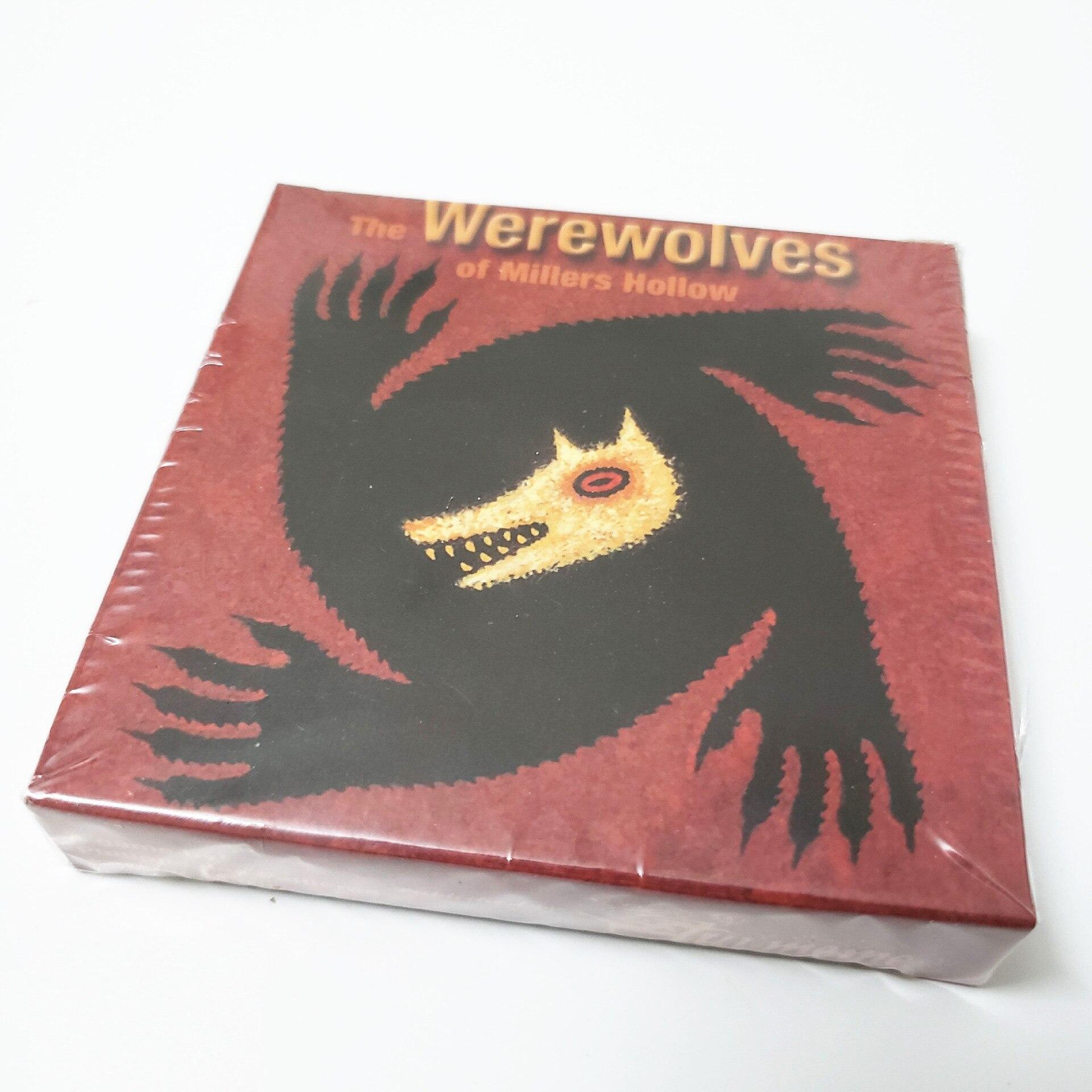 Superventas juego de hombre lobo juego de mesa de cartas juego de mesa de estrategia inglés juego de mesa