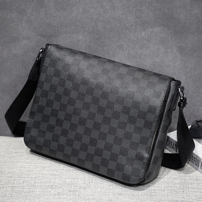 New Fashion Man Leather Messenger Bags Male Cross Body Shoulder Bags Man's Business Briefcase Messenger Shoulder Bags
