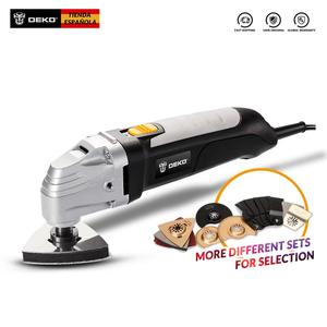 Электрический многофункциональный Осциллирующий Инструмент DEKO 220V с аксессуарами с переменной скоростью Herramientas Electricas