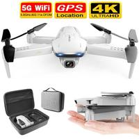 2020 New S162 Drone Gps 4k Hd 1080p 5g Wifi Fpv Quadcopter Flight 20 Minutes Rc Distance 500m One Click Return Drone Pro Toy E68|RC Helicopters|   -