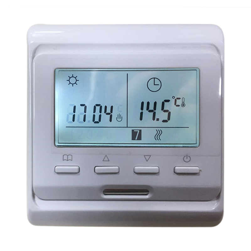 LCD Display Digital Underfloor Heating Thermostat Digital Electric  Floor Heating Thermostat Smart Temperature Control System