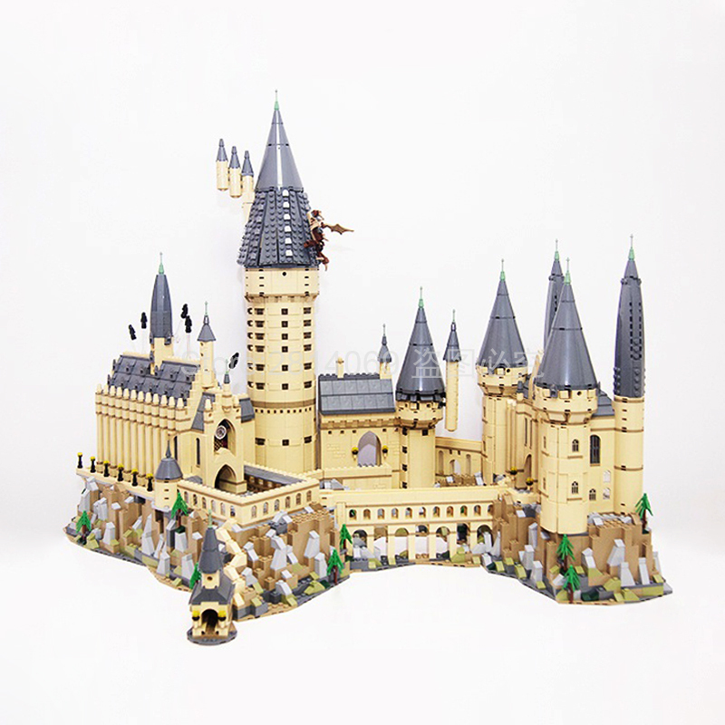 16060 Potter Movie Castle Magic H Warts School Model 6742Pcs Building Block Bricks Toys 71043 Gift For Children