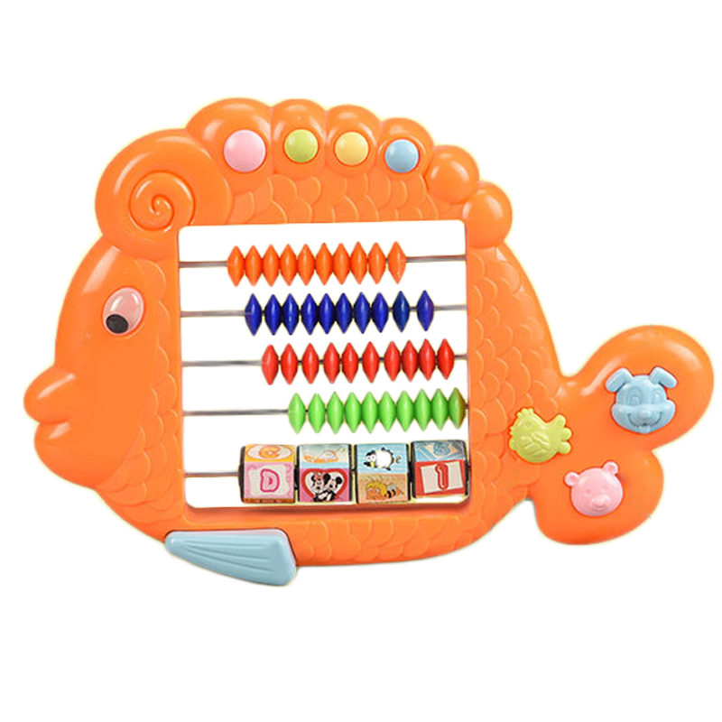 Plastic Abacus Arithmetic Calculating Tool With Colorful Beads Great Educational Tool For Kids Math Toys Early Educational Toys