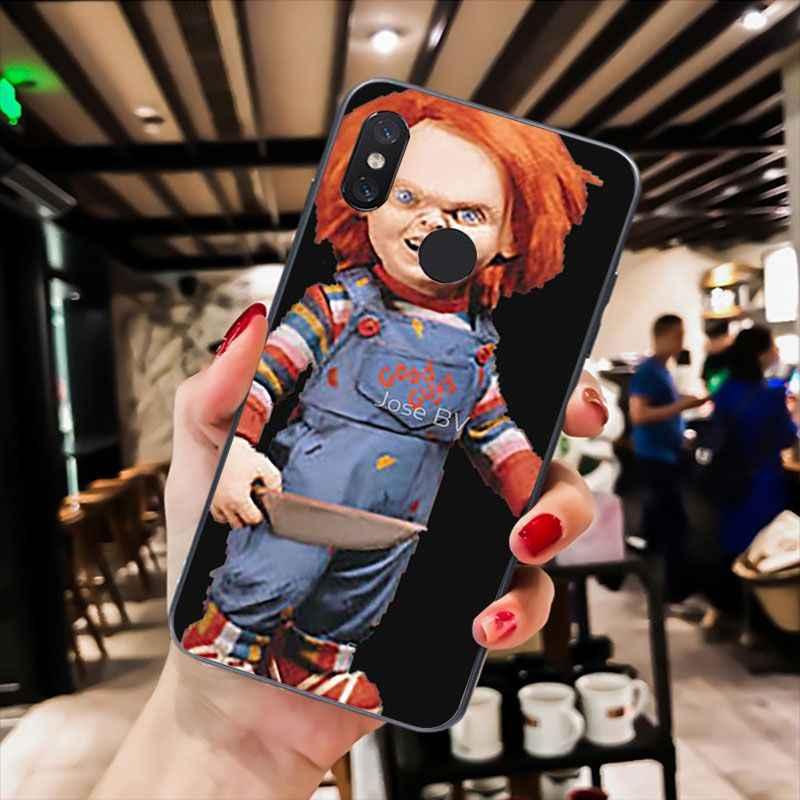 Maiyaca Charles Lee Ray Chucky Boneka Phone Case untuk Xiaomi Redmi8 4X 6A S2 Pergi Redmi 5Plus Note5 7 Note8Pro