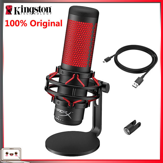 Kingston USB Condenser Microphone for Gaming Professional Computer Microphone YouTube