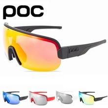 POC AIM New Cycling Sunglasses Outdoor Sports Glasses Men Women Mountain Road Bike Eyewears MTB Bicycle Goggles