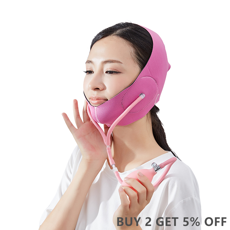 NEW Arrival Wrinkle Face Lifting Cheek Mask Smooth Compression Chin Strap With Neck Support Lift V Face Line Slim Up Belt Strap