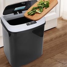15л датчик мусорный бак бесшумный Автоматический Бесконтактный интеллектуальный инфракрасный индукционный датчик мусорное ведро кухонный датчик мусорное ведро может