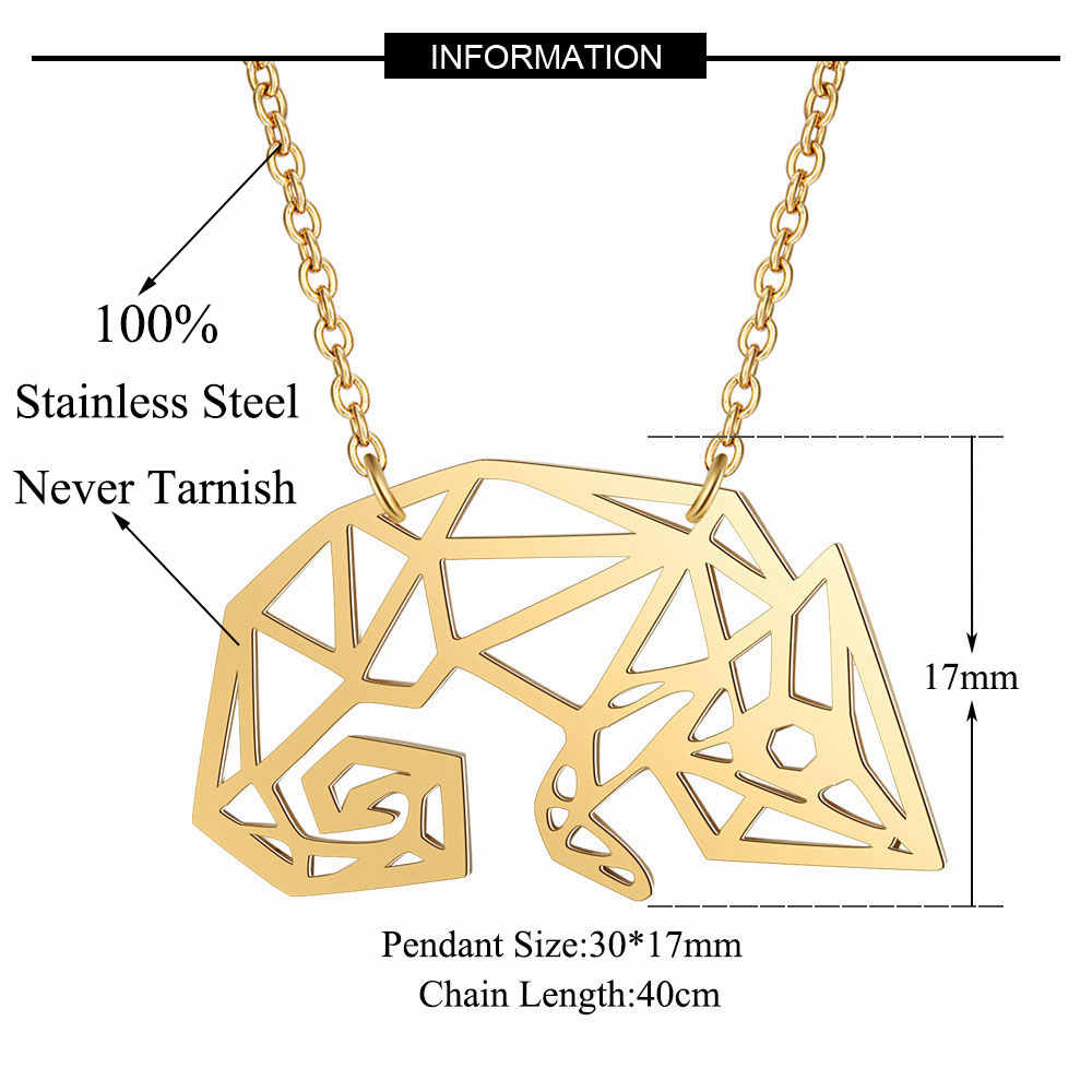 Unique Chameleon Necklace LaVixMia Italy Design 100% Stainless Steel Necklaces for Women Super Fashion Jewelry Special Gift