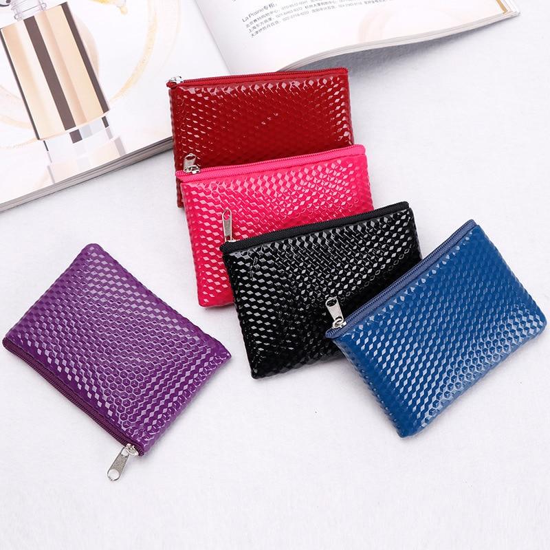 Korean-style Pattern Purse Weaving Zipper Cute Wallet Key Earphones Lipstick Storage Mini Small Bag