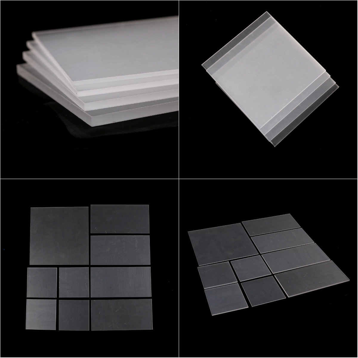 1 Pc 2-5 Mm Dikte Helder Acryl Perspex Sheet Cut Plastic Transparant Bestuur Perspex Panel