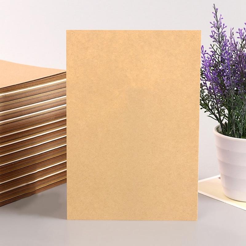 A4 Brown Kraft Paper DIY Handmade Card Making Paper Thick Cardboard