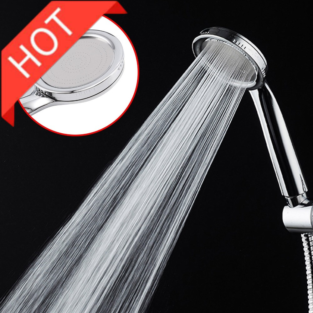 Shower Head Set New Square High Pressure Hand Held Adjustable Jetting Show Nozzle Mist For Ball Showerhead Dropship Products
