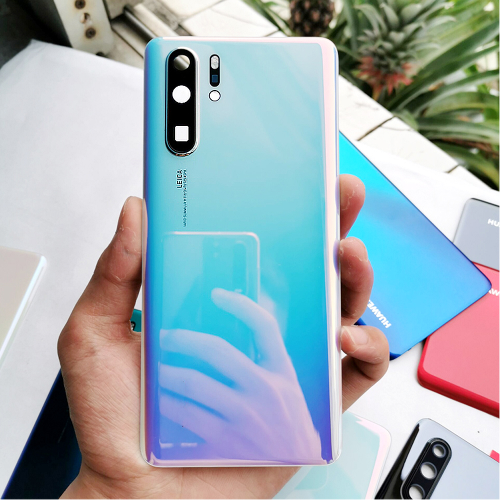 Original Back <font><b>Battery</b></font> <font><b>Cover</b></font> For <font><b>HUAWEI</b></font> <font><b>P30</b></font> Pro Back <font><b>Cover</b></font> Glass <font><b>Battery</b></font> with Camera Lens Replacement For <font><b>Huawei</b></font> <font><b>P30</b></font> Back Housing image
