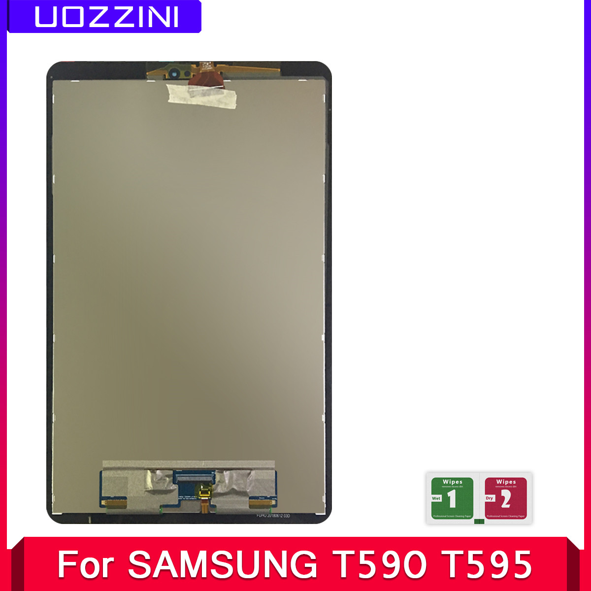 2 Pcs New 10.5'' For Samsung Galaxy Tab A2 T590 T595 SM-T595 SM-T590 2018 LCD Display Digitizer Touch Screen Assembly