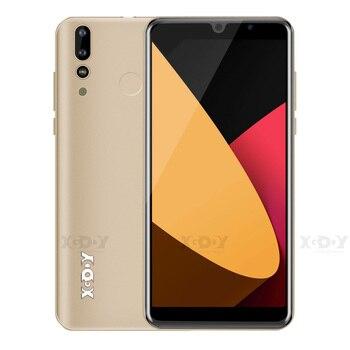 Перейти на Алиэкспресс и купить XGODY P30 3G смартфон 6 дюйм18:9 Android 9,0 телефоны 2 Гб 16 Гб MTK6580 четырехъядерный двойной 2800 мАч GPS WiFi 5 Мп мобильные телефоны
