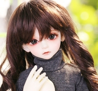 Full Set 1/4 BJD Doll BORY Girl Turtleneck Sweater Gentle Top Quality Joint Doll Birthday Gift Adult Toy Accessories Best Resin