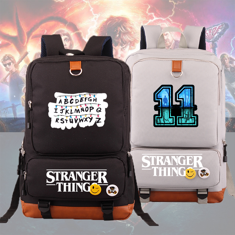 IMIDO Stranger Things Backpacks For School Students Large Capacity Teenagers Laptops Backpack New Fashion 8 Colors Travel Bags