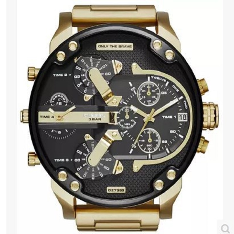 2019 Large Dial Foreign Trade AliExpress Celebrity Style Hot Selling DZ7311 7333 7315 Manufacturers Direct Selling