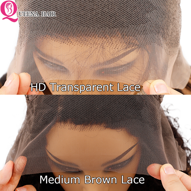 Image 5 - Transparent Lace Front Human Hair Wigs For Black Women Peruvian Straight Lace Frontal Wig Pre Plucked Remy 13x4 front lace Wigs-in Human Hair Lace Wigs from Hair Extensions & Wigs