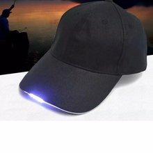 Светодиодный налобный фонарь бейсбольная кепка камуфляжная Ночная