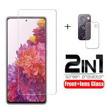 Szkło do Samsung Galaxy S20 FE 5G 2020 obiektyw aparatu Film Protector szkło hartowane na Samsung S20 FE szkło ochronne tanie tanio Alitrend CN (pochodzenie) Przedni Film Telefon komórkowy