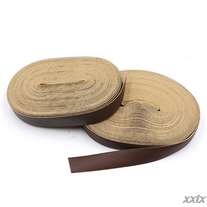 2cmx10m Width 10m Length PU Leather Strap Long DIY Craft Strips Belt Garment Decor